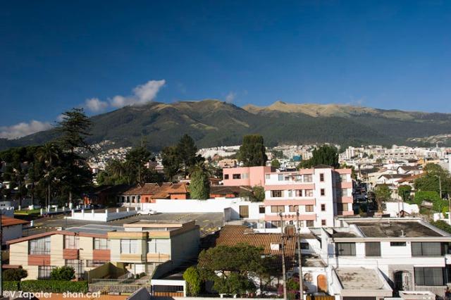 Volcán Pichincha. Pichincha volcano. Quito (Pichincha, Ecuador)