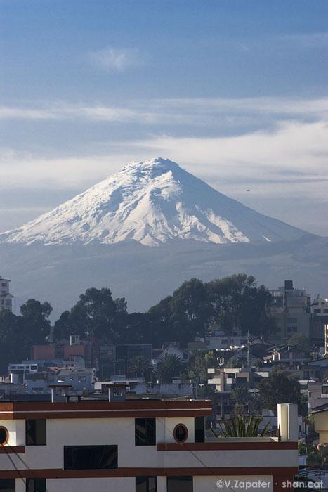 Volcán Cotopaxi. Cotopaxi volcano. Quito (Pichincha, Ecuador)