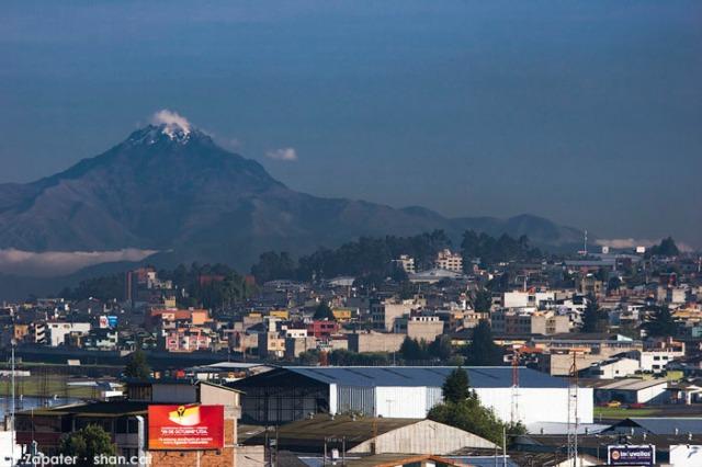 Volcán Imbabura. Imbabura volcano. Quito (Pichincha, Ecuador)